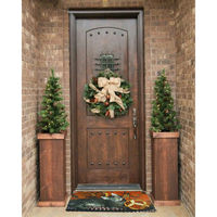 Home decor Christmas bell polyester entrance mat