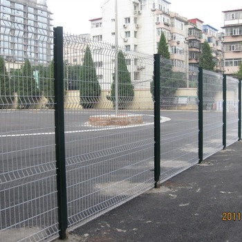 White Pvc Coated Welded Wire Mesh Fence,3d Welded Wire Mesh Fence ...
