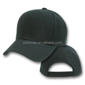 Custom 100% Cotton 6 Panel Baseball Caps Blank Hats Wholesale ... fc56b0110b4