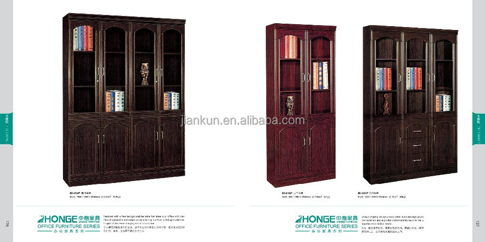 classical luxury standard office wooden file cabinet