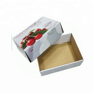 High Quality Paper Corrugated Cardboard Box for Fruit Packing Box