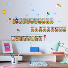 26 Huruf Alfabet Kereta Hiasan Dinding Yang Dapat Dilepas Stiker Dinding Anak Anak S Tk Tata Letak Kelas Stiker