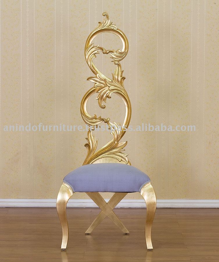 Exceptional French Furniture   Gold Gilt Ornate High Chair   Buy French Furniture,Gold Gilt  Furniture,Ornate Chair High Product On Alibaba.com