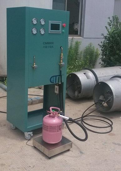 R22 Replacement Refrigerants Reclaiming Equipment R410 Refrigerant Recovery System Buy Cm8800 Refrigerant Split Charging Refilling