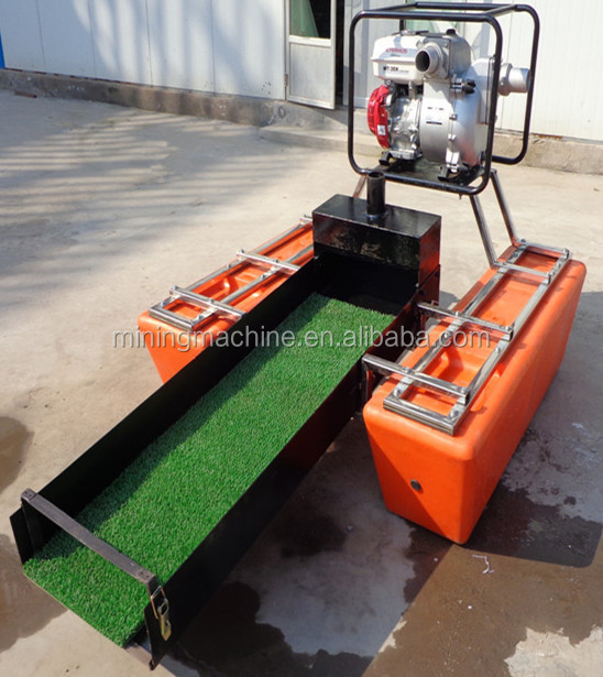 Small Gold Mining Dredges : Chinese mini portable gold dredger in small river buy