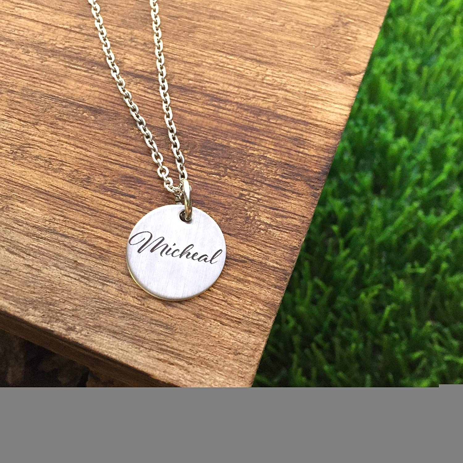 Personalized Name Disc Necklace Gifts for Wife Gifts Valentine's Day Gift For Wife Gift Jewelry Wife Birthday Christmas Gift