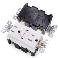 Guangzhou GFCI 125V 15A receptacles outlet (goods have in stock)