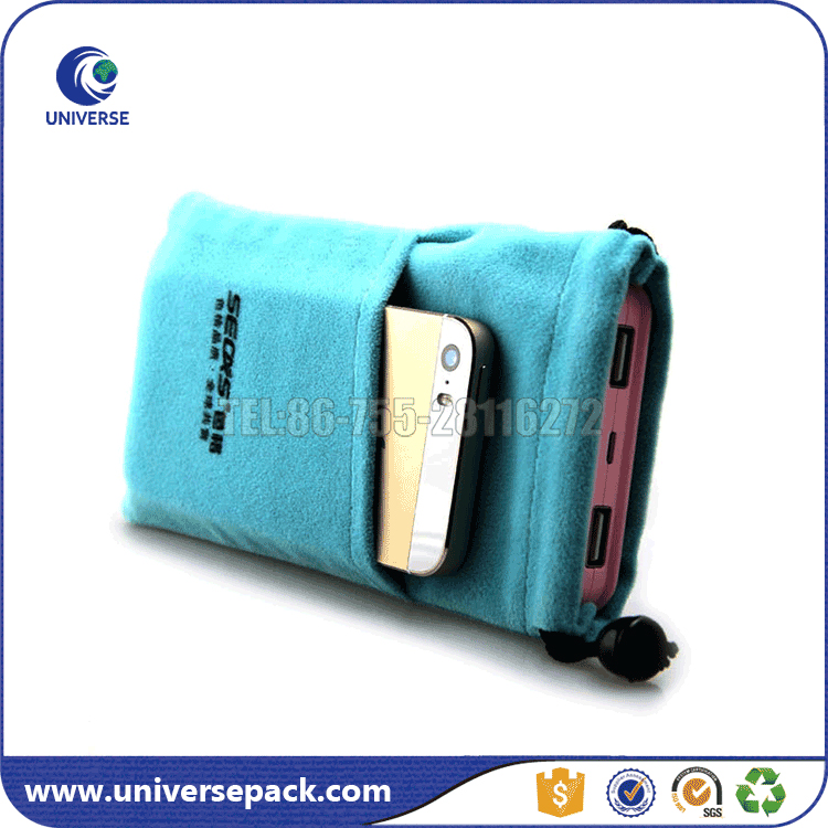 Mobile phone velvet bags for packaging