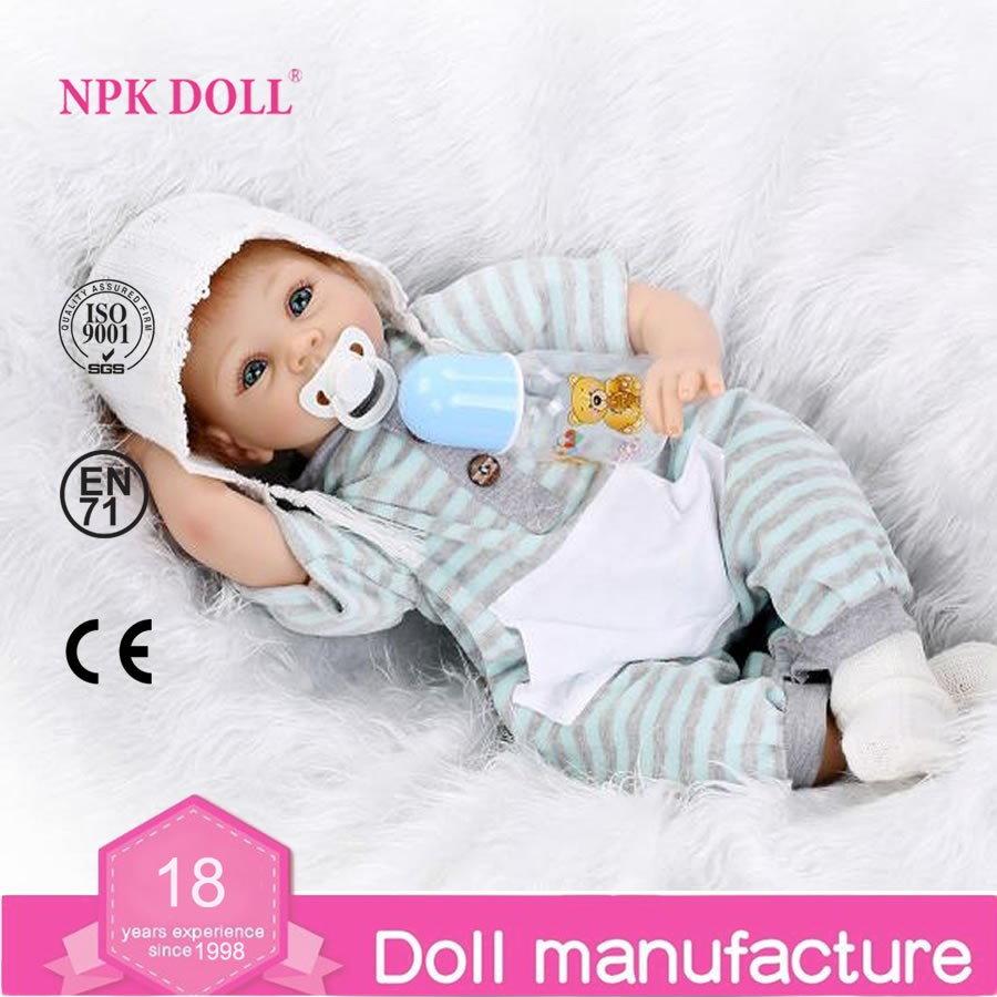 Hot Sale Soft Silicone Reborn Baby Dolls 22 Lifelike