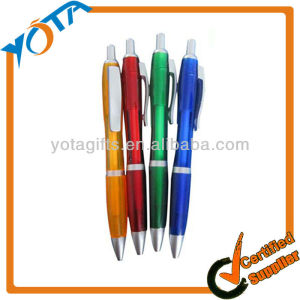 Ballpoint advertising promotional plastic pens