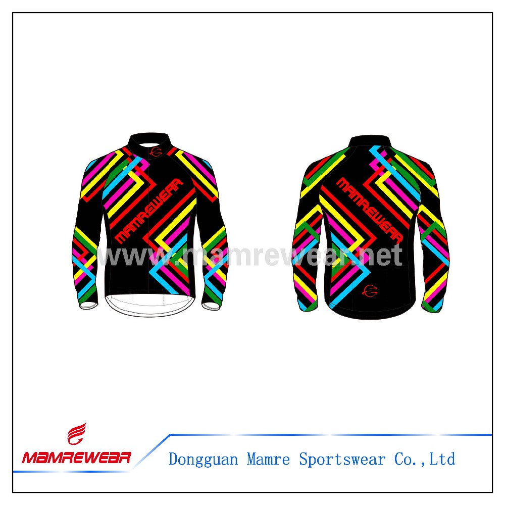 New style removable sleeves cycling bike Jacket ,professional factory sublimation cycling jacket for team