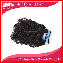 Guangzhou ALI Queen 7A High Quality Cool Italian French Curly Natural Remy Extensions Fake Hair