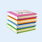 Baby early memory foam boardbook printing high quality cardboard book for children