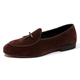 Handmade wholesale latest leather comfortable moccasins for men shoes