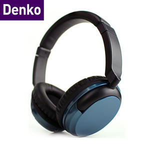 Denko 3.5mm high stereo input bluedio bluetooth headset with 1.5m cable
