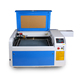 4060 non metal laser engraving machine for sales 400*600mm
