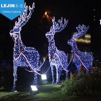 Europe market christmas decoration led light reindeer with high quality - Europe Market Christmas Decoration Led Light Reindeer With High