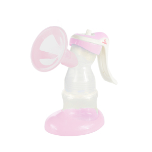 Baby Product Silicone Manual Breast Pump Care Breast Pump with Baby Milk Feeding Bottle