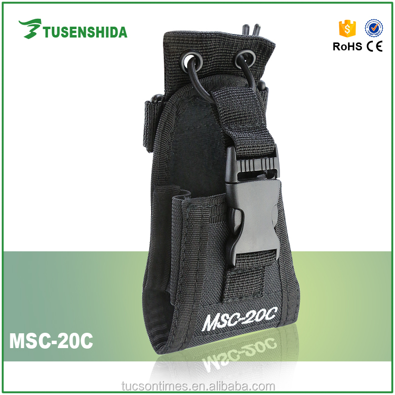 universal Interphone Leather Case with belt clip MSC-20C