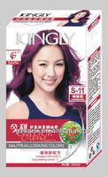 Korea Kingly Floweriness Purple Conditioning Hair Dye/hair Color ...
