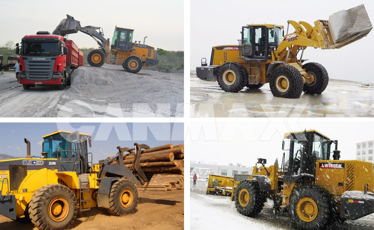 China best wheel loader ZL50GN 5ton with 3cbm bucket
