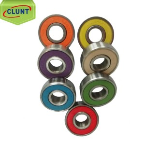 colorful deep groove ball 608 bearing ABEC9 chrome steel bearing 608 2rs