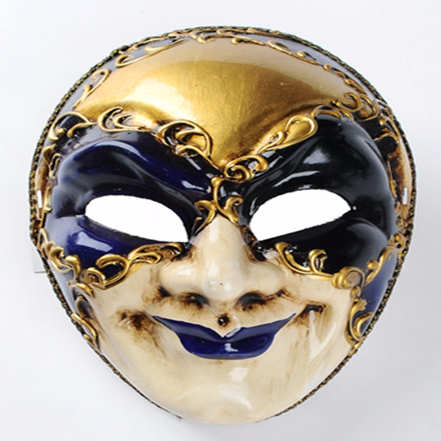 Yiwu Caddy Ls001a-66a Round Face Mask Of Venice Halloween Costume ...