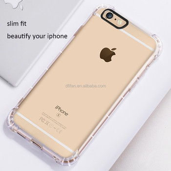 Case for iphone 6 6s tpu, clear plastic cell phone cover cases for apple iphones 6 6s