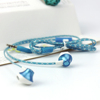 ienjoy Wholesale Fashion Latest Design flat cable earphone with mic