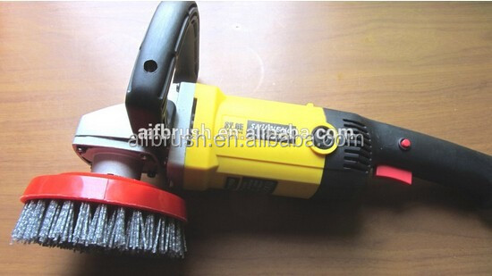 durable bristles cleaning brush as electrical power tool