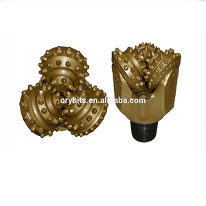 factory price Rock steel teeth tricone Drilling Auger Bit for oil or water well