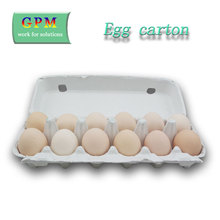 2017 New Design Wholesale Price Recycled Fiber Cardboard Pulp Bulk Egg Cartons For Hens