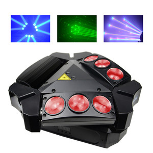 LED Moving Spider Stage Lights For Bar/club LM0910RG