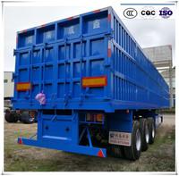 china factory good price heavy duty 40 ton 3 axle semi truck box trailer for sale