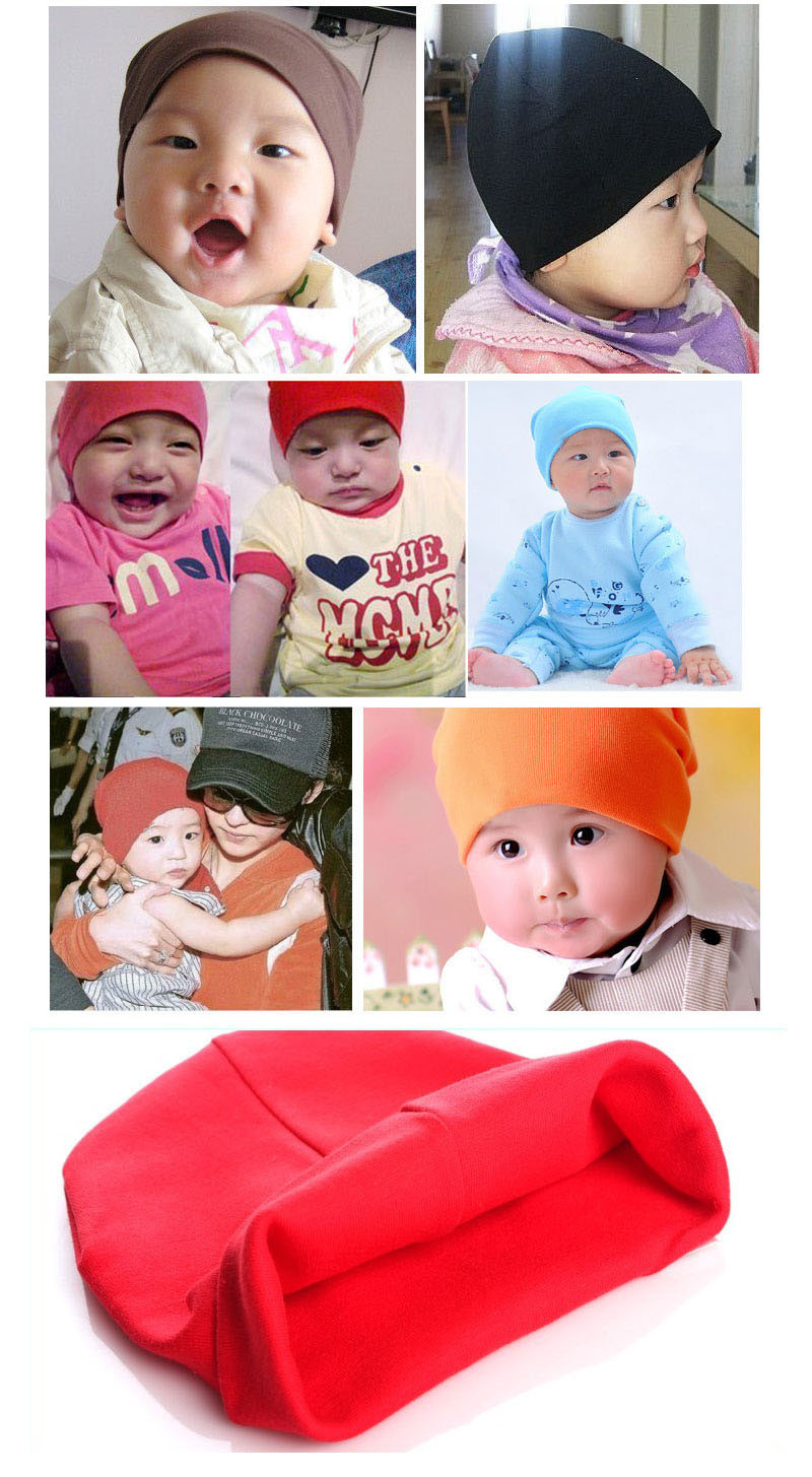 High Quality Fashion New Unisex Newborn photography props Baby Boy Girl Toddler Cotton Soft Hat Cap Beanie Warm Bonnet