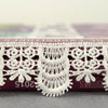 2017 Double Side Best Design Indian White Crochet Lace Trim