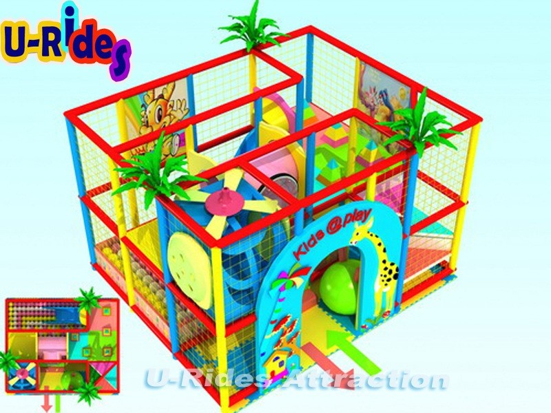 Pequeno Interior Soft Play Equipamentos