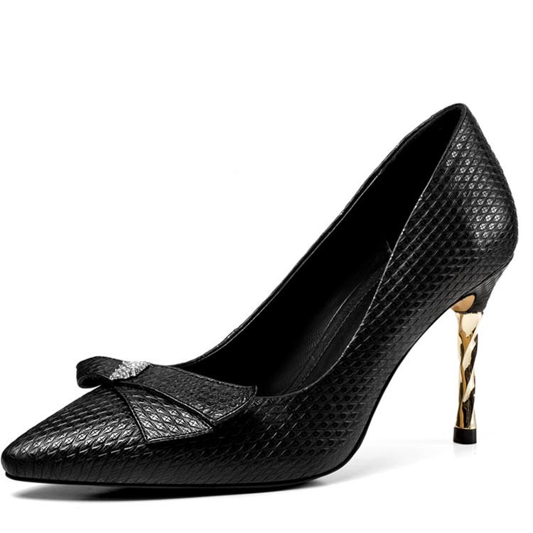 new hot fashion 2018 heel women high shoes dress arrive gfOqwg6R