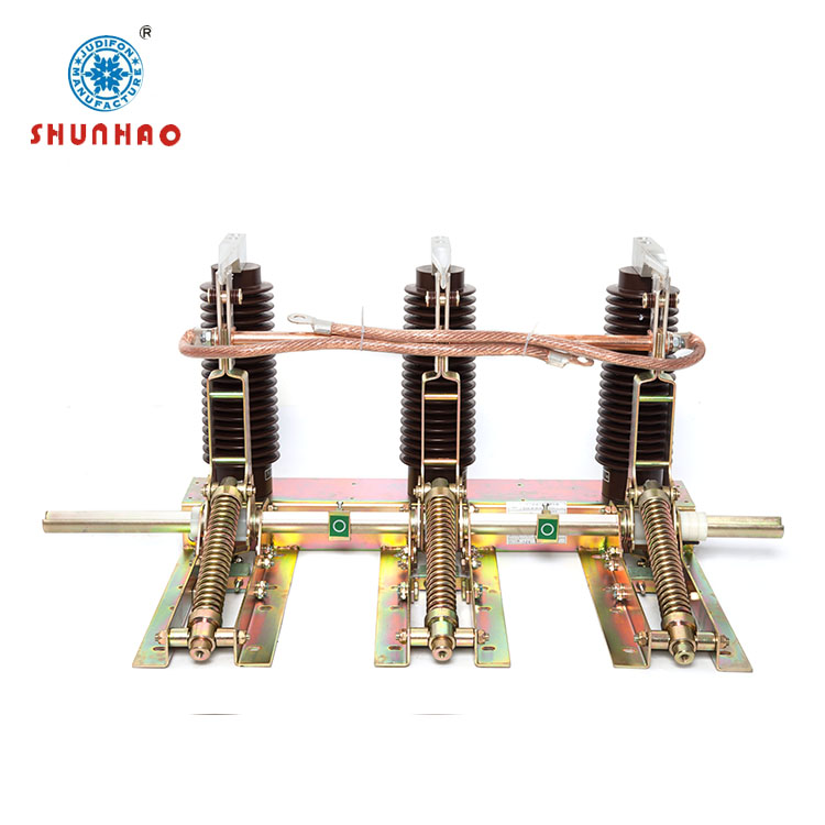 earthing switch of indoor outdoor high voltage vacuum circuit breaker combined