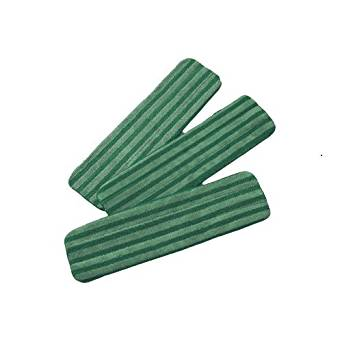 "Medline MDT217771 MicroMax Advantage Microfiber Wet Mops, 18"", Green (Case of 100)"