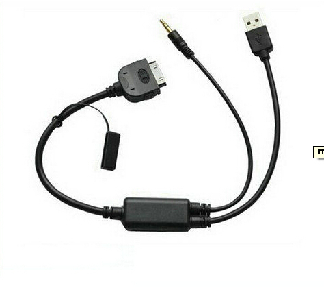 Audio input Charge Cable For BMW Mini Cooper E60,E71,E87