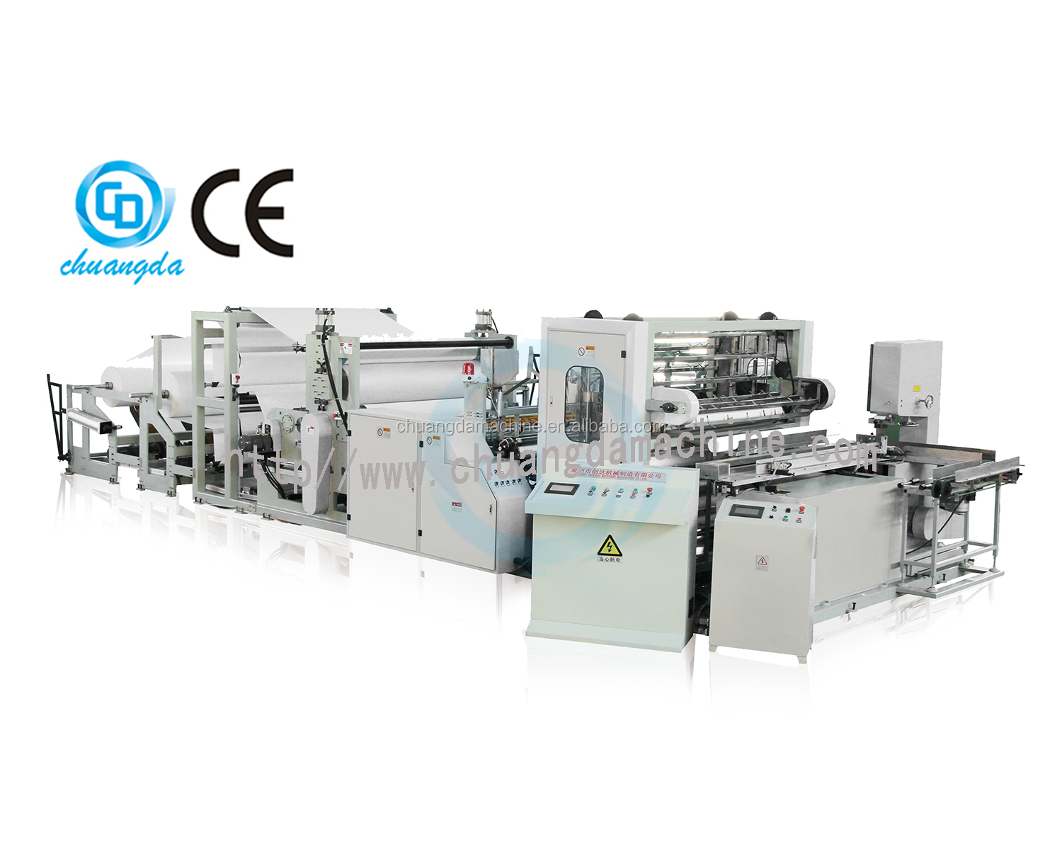 CDH-1575-GS Kitchen towel roll making machine