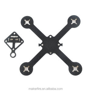 110mm Tiny Whoop Popular Carbon Fiber Drone Frame Kit for Mini Racing Drone