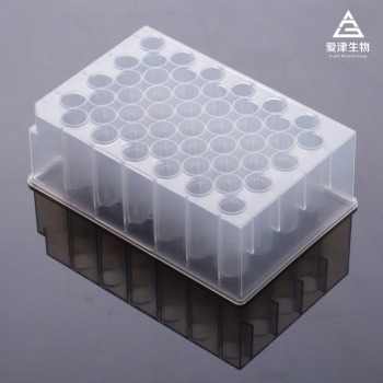 laboratory disposable 48 Round deep Well cell culture plates-SBS Standard-PP material