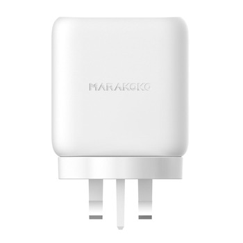Marakoko MA29 Best Fast Charger USB Power Delivery PD Charger 24W USB-C Port and USB QC3.0 18W High Speed Phone Charger