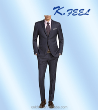 Tailor Made Men's Wool Slim Cut Formal Business Suit