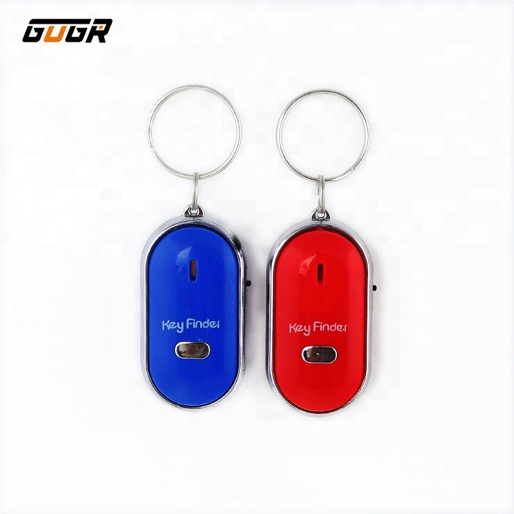 New Bird Key Finder Whistle Finder Keychain Anti-lost Led Electronic Key Find Pendant Superior Materials Security & Protection