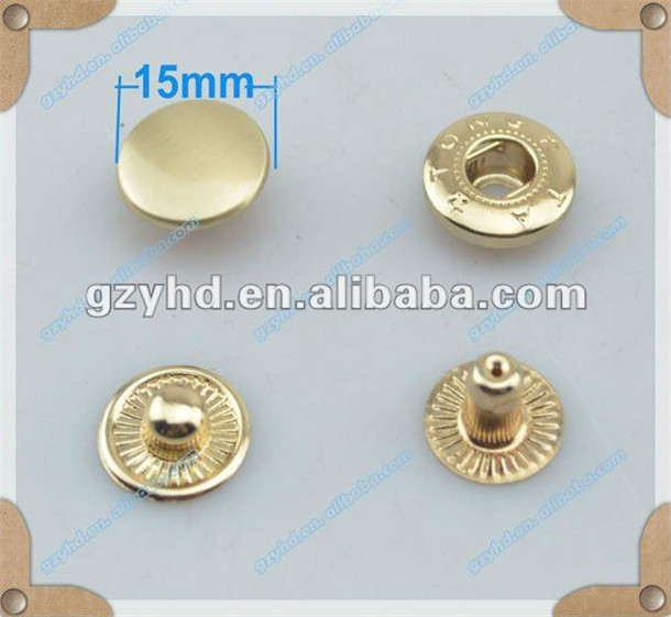eco-friendly wholesale dome head jeans button rivet stud