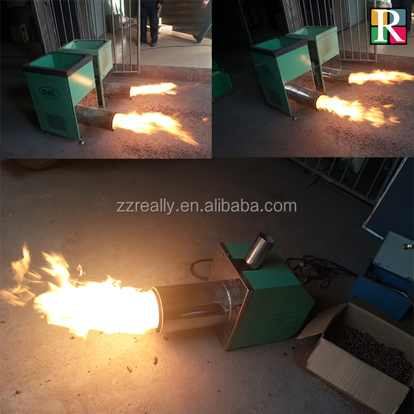 Environmental Friendly Pellet Stove Biomass Pellet Burner