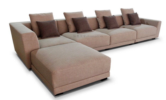 Fabric L Shaped Sofa, Corner Sofa Living Room, Modular Sofa Furniture Design